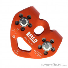 LACD Tandem Pulley Bergsteigerzubehör -Rot-One Size