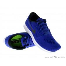 Nike Free RN Herren Laufschuhe-Blau-7,5