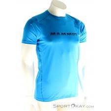 Mammut Splide Logo Herren T-Shirt-Blau-S