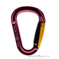 Grivel Mega K6G Twingate Safe Lock Karabiner -Pink-Rosa-One Size