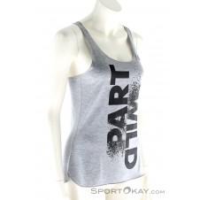 adidas Prime Tank Wild Damen Fitnessshirt-Grau-M