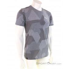Salewa Muster S/S Herren T-Shirt-Grau-M