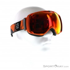 Salomon X Tend Skibrille-Schwarz-One Size
