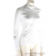 Salomon Lightning Pro Mid Damen Laufsweater-Weiss-M
