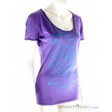 E9 New Start Damen T-Shirt-Lila-XS