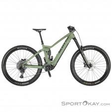 "Scott Ransom eRide 920 29"" 2021 E-Bike Endurobike-Oliv-Dunkelgrün-M"