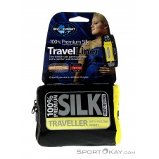 Sea to Summit Expander Liner Traveller Seiden Inlett-Blau-One Size