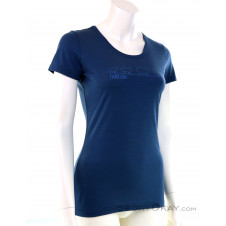 Ortovox 150 Cool Ewoolution TS Damen T-Shirt-Blau-S
