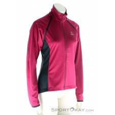 Löffler Zip-Off Damen Bikejacke-Pink-Rosa-36
