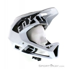 Fox Proframe Mink Helmet Downhill Helm-Weiss-S