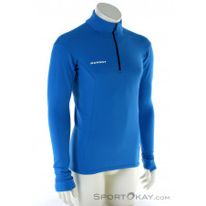 Mammut Moench Advanced ML Half Zip Herren Sweater-Türkis-S