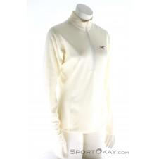 Arcteryx Delta LT Zip Damen Outdoorsweater-Weiss-S