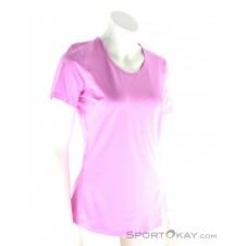 Under Armour HeatGear CoolSwitch Damen Fitnessshirt-Lila-XS