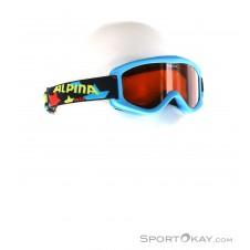 Alpina Carvy 2.0 Kinder Skibrille-Blau-One Size