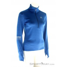 Salomon Lightning HZ Damen Outdoorsweater-Blau-S