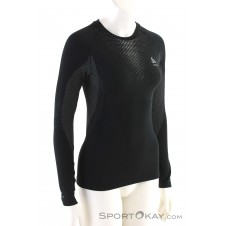 Odlo SUW Performance Warm L/S Damen Funktionsshirt-Schwarz-M
