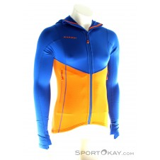 Mammut Eiswand Advanced ML Hooded Jacket Herren Tourenjacke-Orange-S
