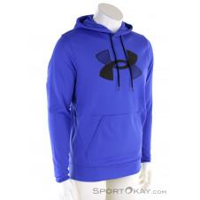 Under Armour Fleece Big Logo Herren Sweater-Blau-S