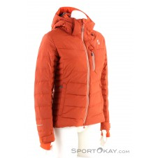 Scott Ultimate Down Damen Skijacke-Rot-XS