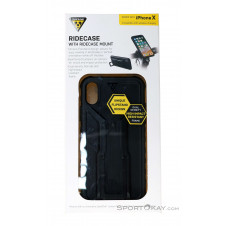 Topeak RideCase IPhone X Handyhülle-Schwarz-One Size