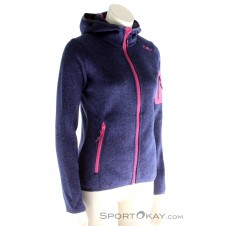 CMP Strickfleece Damen Outdoorsweater-Blau-40