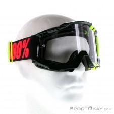 100% Accuri Anti Fog Clear Lens Downhillbrille-Gelb-One Size