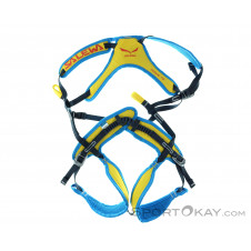 Salewa Rookie Fullbody Kinder Klettergurt-Blau-One Size