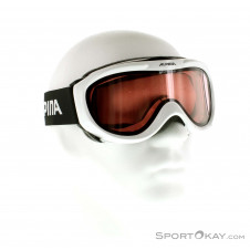 Alpina Freespirit QL Skibrille-Weiss-One Size