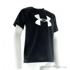 Under Armour Big Logo Print Jungen T-Shirt-Grau-S