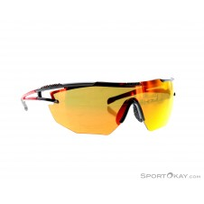 Alpina Eye-5 Shield CM+ Sonnenbrille-Rot-One Size