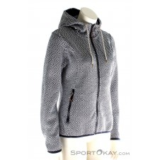 Icepeak Hoodyjacket Strick Lotte Freizeitsweater-Blau-34