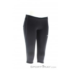Nike Tech Capri Damen Laufhose-Schwarz-XS