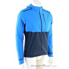 On Weather-Jacket Herren Laufjacke-Blau-S