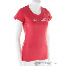 Scott 10 No Shortcuts S/SL Damen T-Shirt-Pink-Rosa-XS