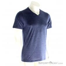 Icebreaker Tech Lite SS V Herren T-Shirt-Blau-S