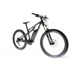 Scott E-Genius 730 2018 E-Bike All Mountainbike-Schwarz-M