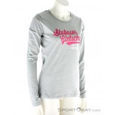 Stubaier Gletscher Sport Design Sweden Damen T-Shirt-Grau-S