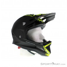 Airoh Fighters Com Yellow Downhill Helm-Gelb-XL