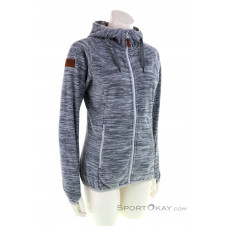 Bergans Hareid Fleece Damen Fleecejacke-Grau-M