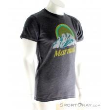 Marmot Pikes Peak SS Herren T-Shirt-Grau-M