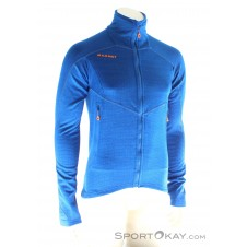 Mammut Eiswand Guide ML Jacket Herren Fleecejacke-Blau-S