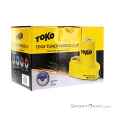 Toko Edge Tuner World Cup Kantenschleifer-Gelb-One Size