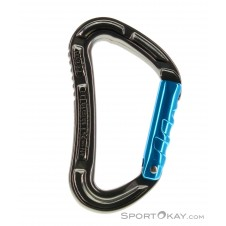 Mammut Key Lock Straight Gate Schnappkarabiner-Blau-One Size