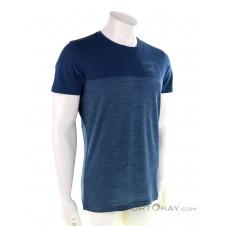 Ortovox 150 Cool Logo TS Herren T-Shirt-Blau-S