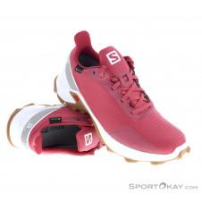 Salomon Alphacross GTX Damen Traillaufschuhe Gore-Tex-Pink-Rosa-6,5