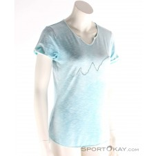 Chillaz Tao Alpensteinbock Damen T-Shirt-Blau-34