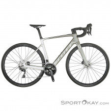 "Scott Addict E-Ride 20 28"" 2021 E-Rennrad-Grau-M"
