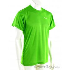 Salewa Puez Melange Dryton SS Herren T-Shirt-Grün-50