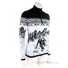 CMP Sweat Knitted Damen Sweater-Weiss-36