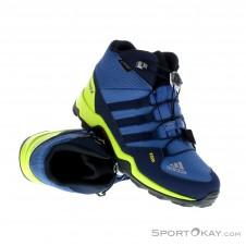 adidas Terrex Mid GTX Kinder Wanderschuhe Gore-Tex-Blau-34